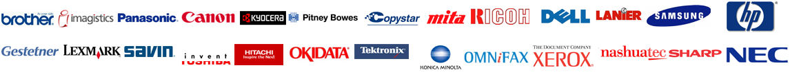 Copier Repair Tulsa Supported Brands